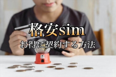 格安simのおすすめはmineo 料金プランと事務手数料を無料にする方法